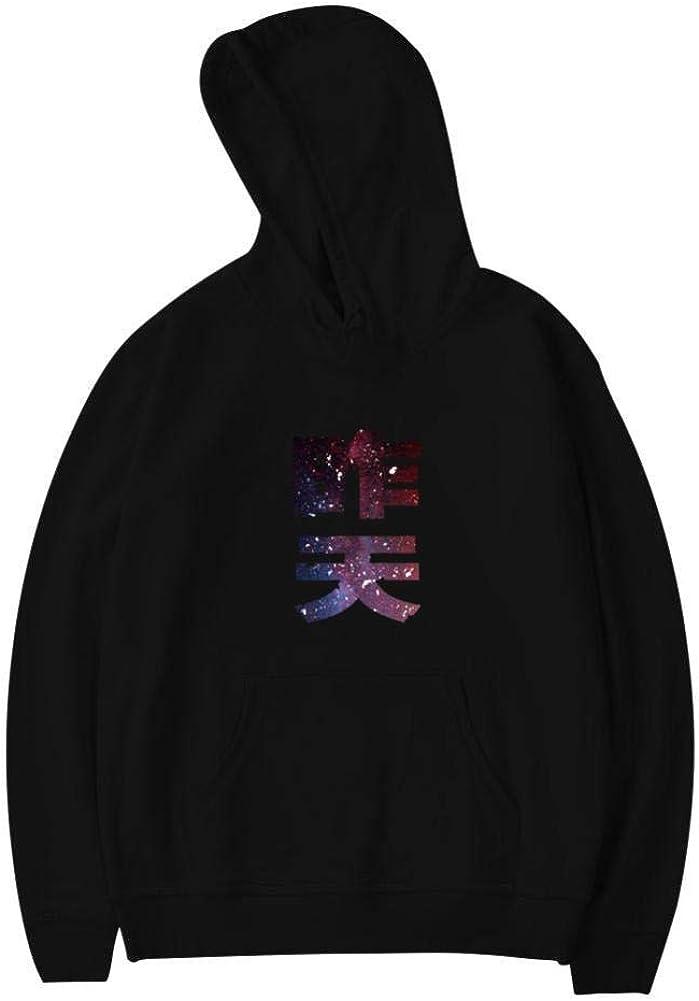 QAXGTD Yesterday Youth Sweatshirt 3D Printed Fashion Long Sleeve Hooded for Teen Girls Boys