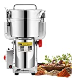 CGOLDENWALL 1000g Stainless Steel Electric Grain Grinder Mill for Grinding...