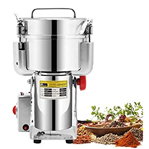 CGOLDENWALL 1000g Stainless Steel Electric Grain Grinder Mill for Grinding Various Grains Spice Grain Mill Herb Grinder…