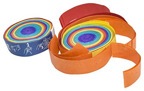 Deitert Konfetti-Frisbee Regenbogen