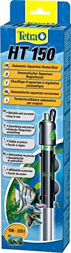 Tetra HT 150 - Potente calentador de acuario para cubrir diferentes niveles de potencia con el mando de ajuste de temperatura
