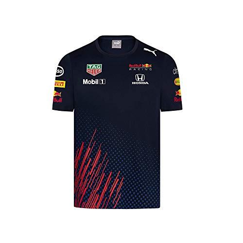 Red Bull Racing Official Teamline Camiseta, Niños Tamano 128 - Original Merchandise