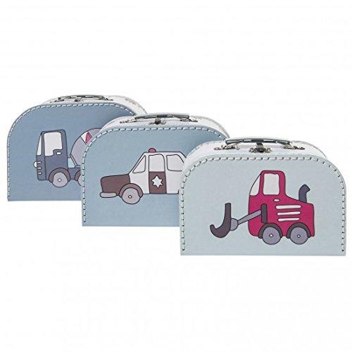 3-delige kofferset voor jongens