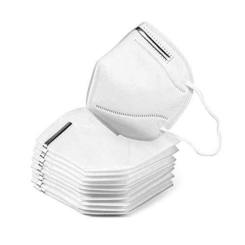 AIORNIY 10-teilig Atmungsaktive Unisex-Staubschutz Bequemer