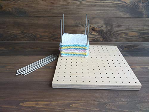 Crochet Blocking Board With Stainless Steel Pins