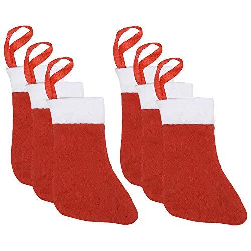 The Dreidel Company Mini Christmas Stocking Stuffers, 4' (6-Pack)