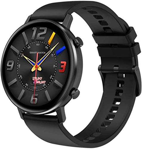 JSL Hombres s mujeres 1.3 pulgadas 360 * 360 HD pantalla dual UI Monitores deportes Smartwatch para Android-E