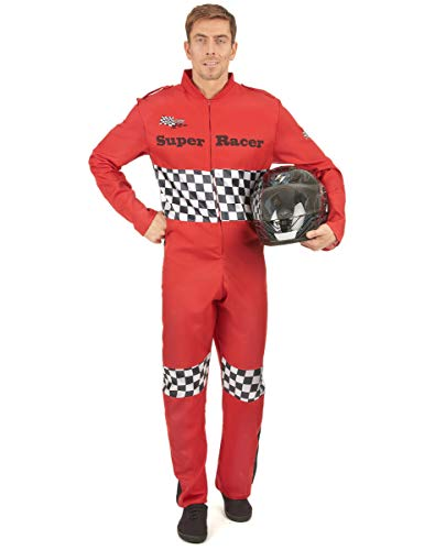 Generique - Rennfahrer Kostüm für Herren L