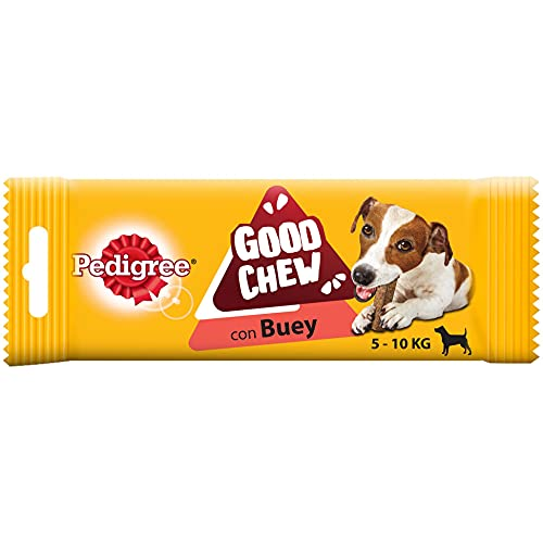 Pedigree Snack Good Chew Perros Pequeños 58gr Sabor Buey