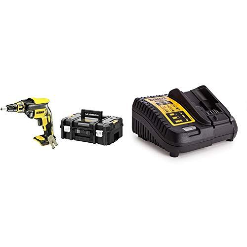 Dewalt DCF620NT-XJ DCF620NT-XJ-Atornillador Panel Yeso sin escobillas XR 18V sin Cargador/batería con maletín TSTAK, 0 W, 18 V + DEWDCB115Baterías y cargadores