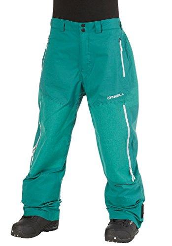 O'NEILL Jones 3L Pantalon Salopette de Ski pour Homme Lake Green Large
