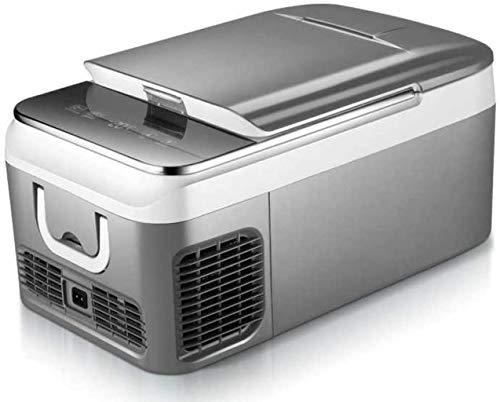 XUHRA Kühlschrank Baukompressor Kühlschrank Gefrierschrank 18L intelligente Temperaturregelung elektrische Kühlbox Für Picknick,2