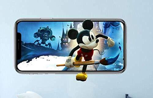 Adhesivos de pared 3D Adhesivos de pared Epic Mickey Videojuegos Adhesivos decorativos murales en 3D Vinilo Habitación infantil