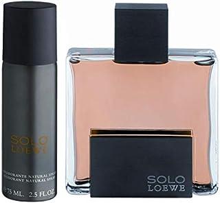 solo loewe for men, 75 ml, eau de toilette + deodorant 75 ml