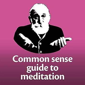 Common Sense Guide to Meditation
