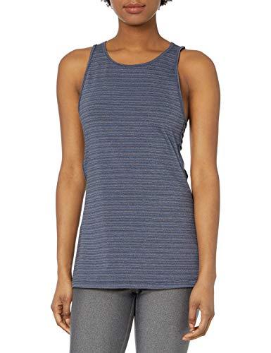 Roxy Damen Quiet Ocean Tank Top Yoga-T-Shirt, Dress Blues, Groß