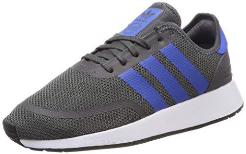Adidas N-5923 J Zapatillas de Gimnasia Unisex Niños, Gris (Grey Five/True Blue/Ftwr White Grey Five/True Blue/Ftwr White), 38 EU