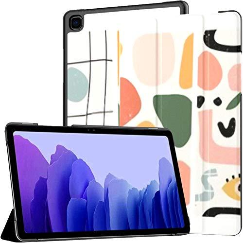 Juego de Fundas para Tableta Samsung A7 Tres Patrones sin Costuras Estuche Dibujado a Mano para Samsung Galaxy Tab A7 10.4 Pulgadas Estuche Protector de liberación 2020 Estuche Samsung Galaxy A7 Estu