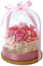 プリザーブドフラワー ダイヤウッドMアレンジシンプル (ピンク) 母の日 父の日 敬老の日 クリスマス 誕生日 記念日 お祝い プレゼント ギフト 還暦 退職 女性 男性 贈り物