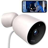 Nooie 1080P Wired Bullet Outdoor Security Camera With Two-Way Audio