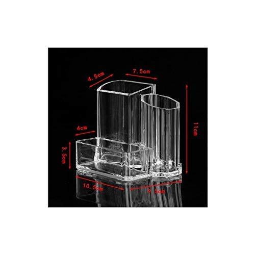 ZHAS Boîte de Rangement cosmétique Boîte de Rangement Maquillage Organisateur Étagère de Rangement cosmétique Maquillage Brosse de Rangement Porte-Stylo Porte-Cartes de Visite