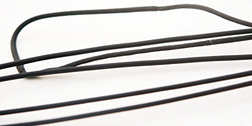 60X Custom Strings Black Fast Flight Compound Replacement Bowstring Bow (Multiple Sizes) (56 INCH)