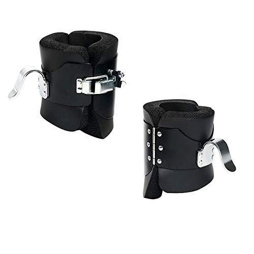 NiceDD Botas de inversión antigravedad para colgar con almohadillas contorneadas para alivio de la compresión por gravedad