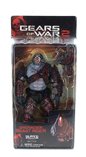 Neca - Gears of War 2: Grenadier Beast Rider 18cm - 0634482521014