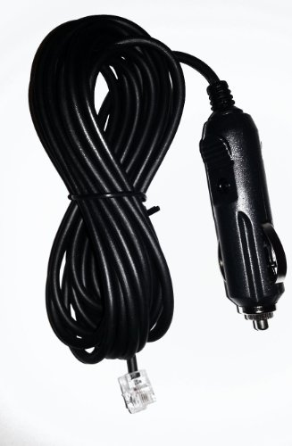Long Power Cord for Beltronics / Escort / V1 Radar Detectors