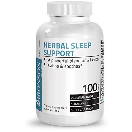 Herbal Sleep Support, 100 Capsules