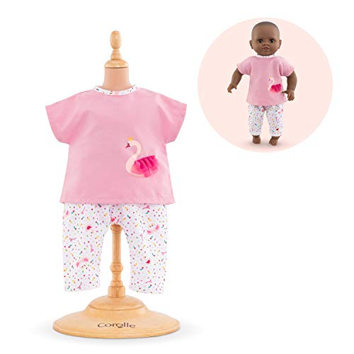 "Corolle - Swan Royale Outfit Set - for Mon Premier Poupon 12"" Baby Dolls Outfit"