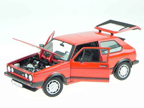 VW Golf 1 GTI rot Modellauto 18039 Welly 1:18