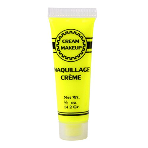 LEUM SHOP 19/14,2 g - Crème pour le visage - Pour Halloween - Pigment sûr non toxique - Jaune L