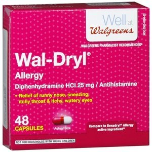 Walgreens Wal-Dryl Allergy Relief, Capsules, 48 ea by Walgreens