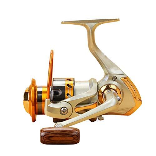 RongWang Carrete De Pesca Giratorio De Metal De Rueda Distante Serie 500-9000 5.5: 1 12 Bolas De Rodamiento Rueda De Pesca Gire El Carrete Bobina De Pesca (Spool Capacity : 3000 Series)