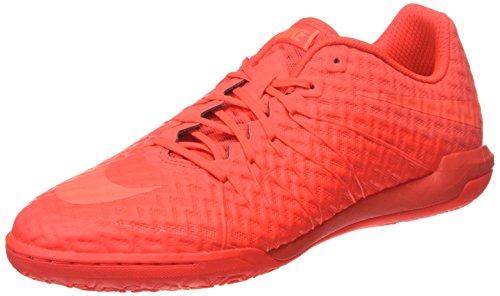 NIKE Herren Hypervenomx Finale IC  Sneakers, Orange (Bright Crimson Rot/Hyper Orange), 44.5 EU