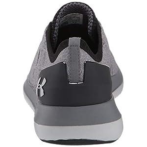 Under Armour Women's Slingride 2 Sneaker, Pitch Gray (106)/Black, 8.5 M US