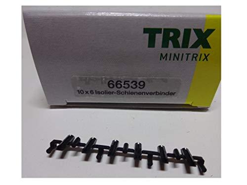 TRIX T66539 - N Isolier-Schienenverbinder - 6Stk.