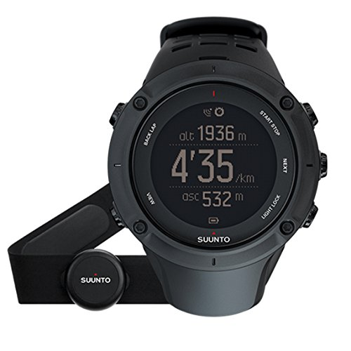 SUUNTO(スント) AMBIT3 PEAK BLACK (HR) 【日本正規品】 時刻表示 GPS コンパス 心拍計 Bluetooth [メーカ...