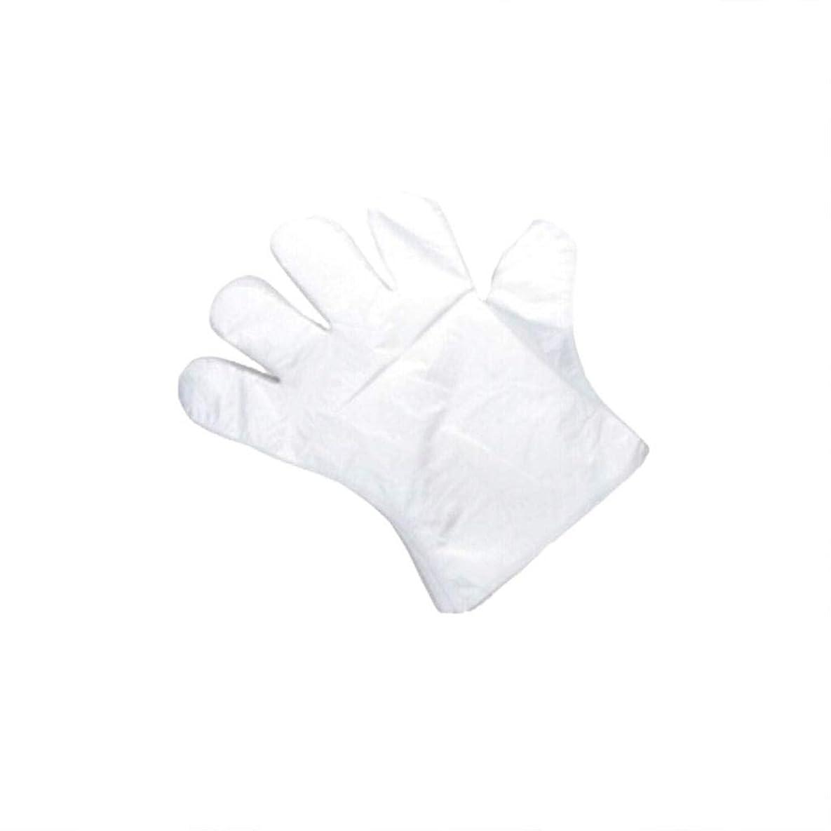 誘導奴隷畝間手袋、使い捨て手袋、肥厚、抽出手袋、テーブル、ピクニック、100スーツ。