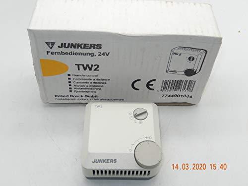 JUNKERS TW2 Fernbedienung 24V Raumthermostat mit mit Handbuch NEU im OVP, unbenutztes Ersatzteil