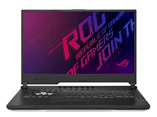 ASUS ROG Strix G G731, Notebook con Monitor 17,3' FHD, Anti-Glare, Intel Core i7-9750H, RAM 16GB, Grafica NVIDIA GeForce GTX 1660Ti, HDD 512GB SSD PCIE, Windows 10, Nero lucido