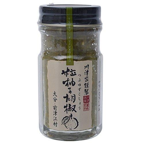 川津食品 粒柚子こしょう 瓶 60g [2380]