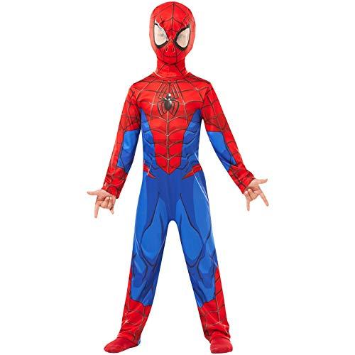 Rubies 640840s Spiderman Marvel Classique Costume Enfant, Bleu-Rouge, S (3 - 4 ans / 104 cms)
