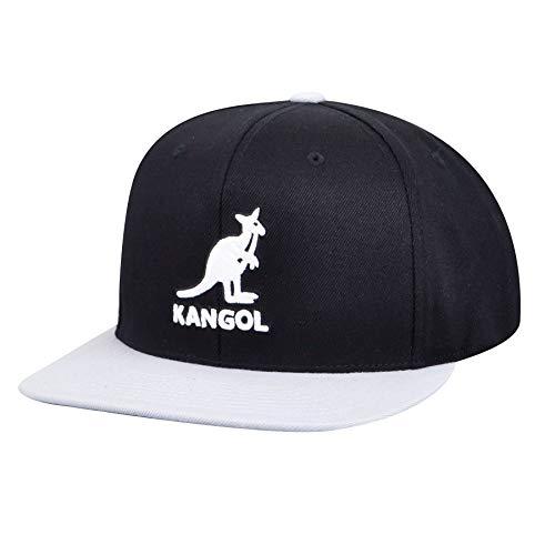 Kangol Championship Links Adjustable Gorra de béisbol, Negro/Gris, Talla única para Hombre