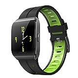 WEINANA Pulsera Inteligente Multifuncional Registro De Salud Deportiva De Alta Definición Monitorización del Sueño De Pantalla Grande Reloj Inteligente Reloj Inteligente De Moda(Color:Verde)