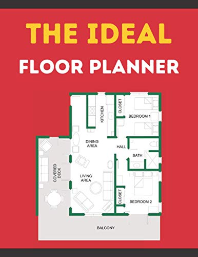 The Ideal Floor Planner: Building And Apartment Planner Book For Architects and Architecture Students