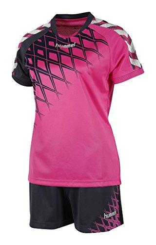 hummel Damen Trikot Set Fire Knight WO Training Kit, Rose Violet/Graphite, L