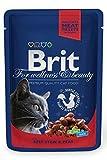 Nayeco Brit Premium Pollo y Pavo sobre para Gatos 100 gr.