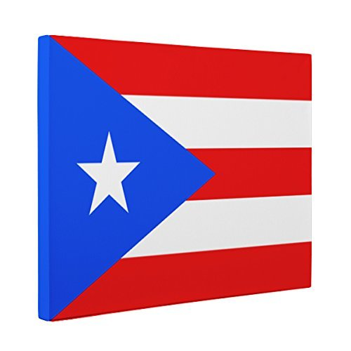 Puerto Rico Flag CANVAS Wall Art Home Décor